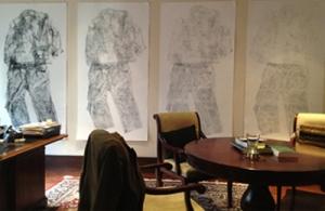 Q1, Q2, Q3, Q4, installed in Sean Fletcher's office