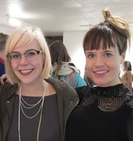 Root Division Studio Artists Jennie Lennick (left) & Mie Mogensen (right)